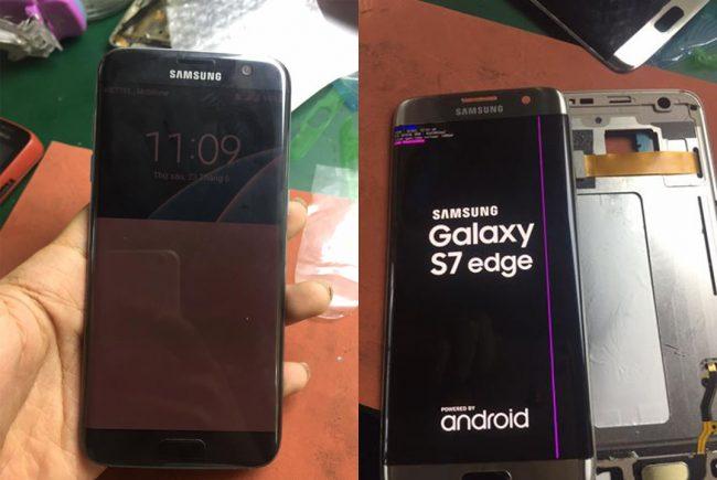 Thay màn hình Samsung Galaxy S7 Edge chính hãng